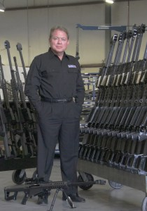 Ronnie Barrett is one of only four people in the past 100 years to invent a rifle type classified and adopted for use by the United States military. Today, Barrett Firearms manufactures eight distinct models of rifles as well as a new line of shotguns.
