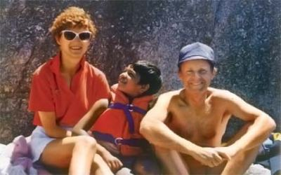 Sue, Saroo, and John