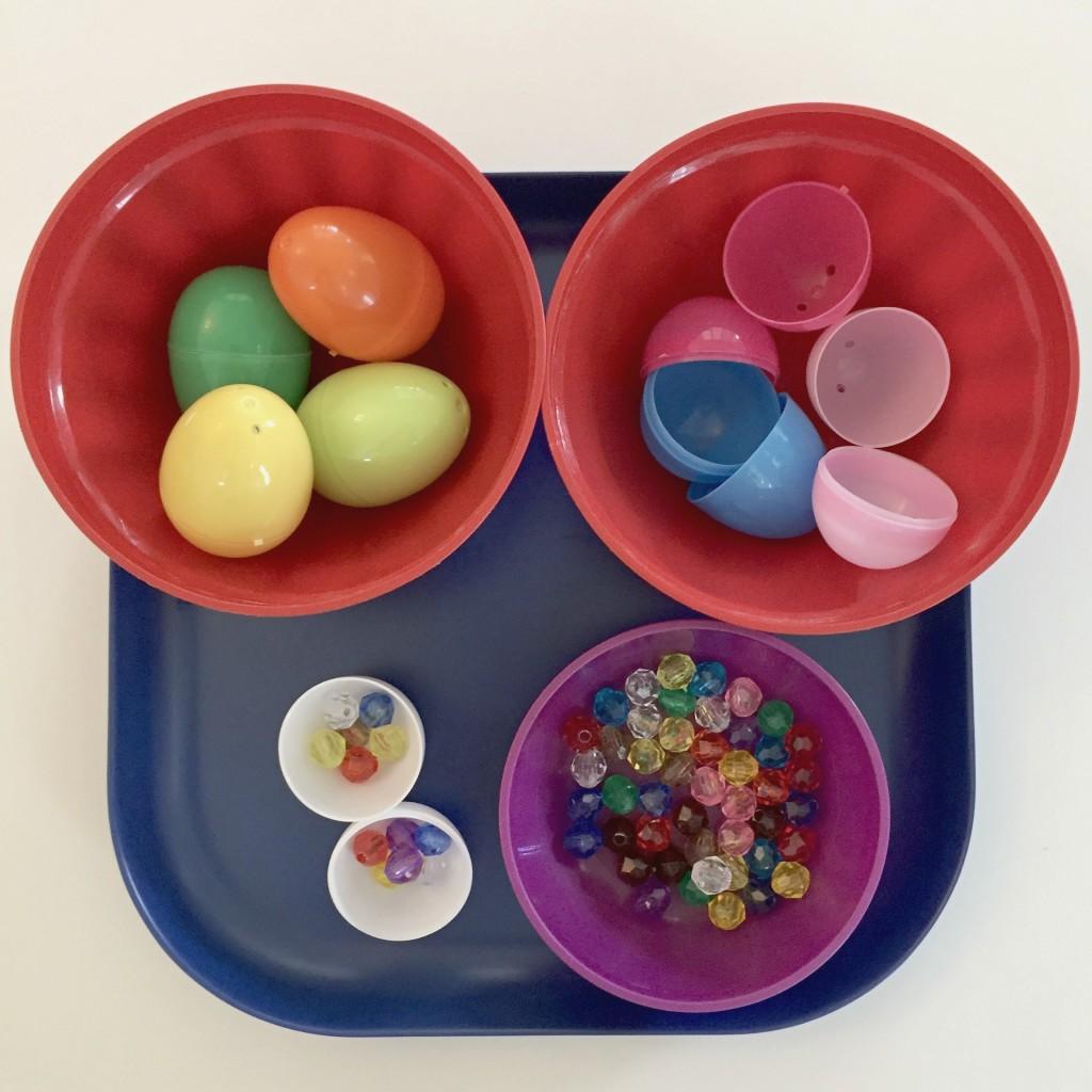 Easter Shelf Activities In The Preschool Classroom