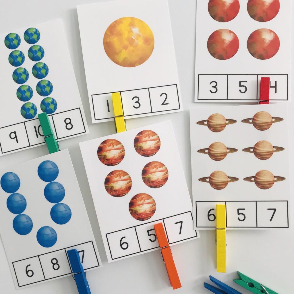Space Activities For The Preschool Classroom