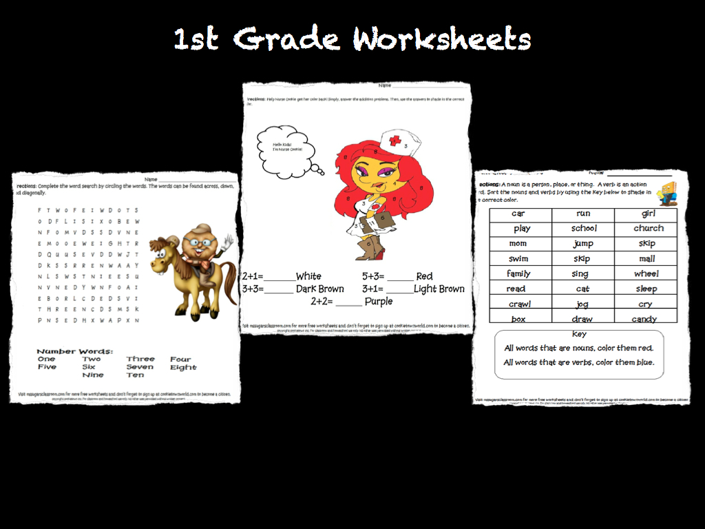 1st Grade Curriculum Worksheets Happy Memorial Day