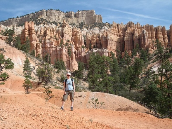Susie in Bryce Canyon, USA