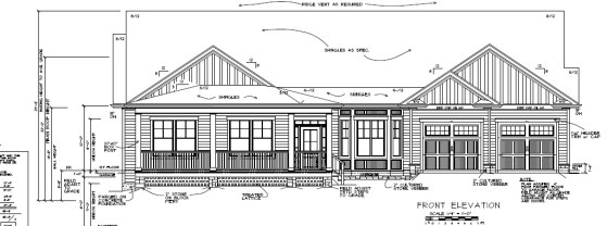 City of Durham Front Elevation