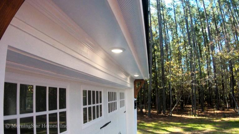Orange County Garage Overhead Soffit Lights