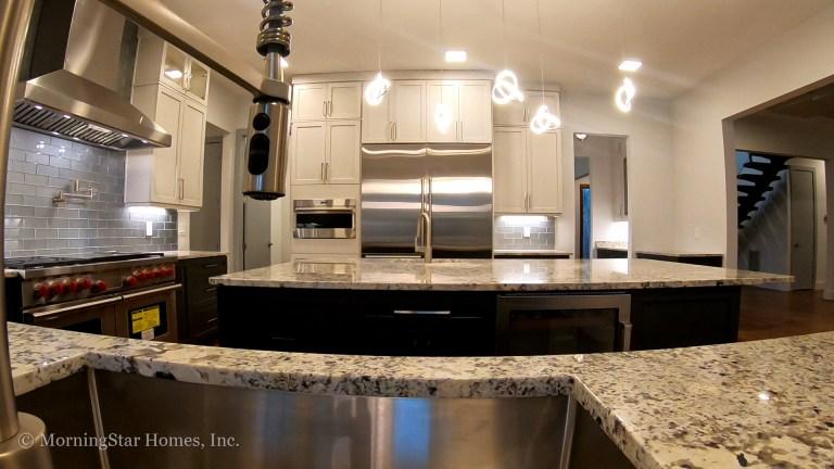 Double sink kitchen