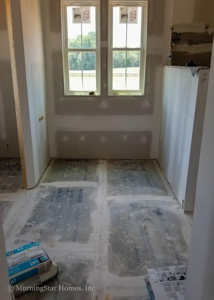Tile is starting