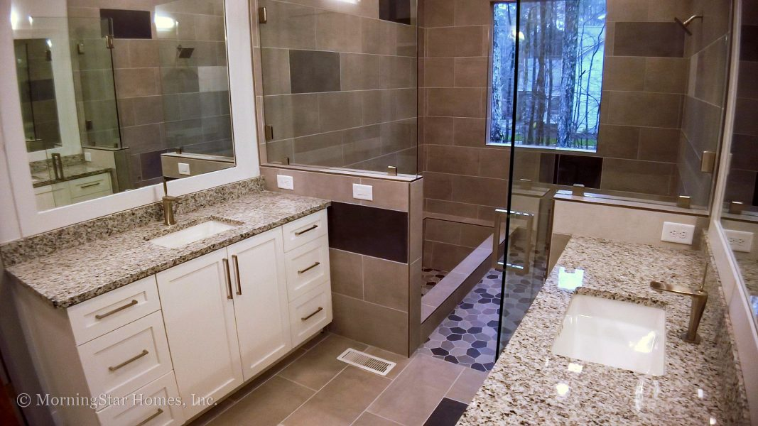 Owner's Bath with built-in tub