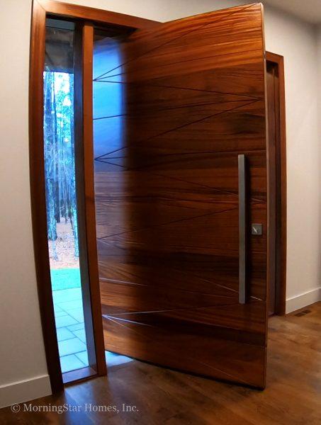 Custom Pivot Front Door