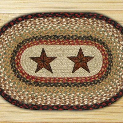 Barn Stars 48-PM019BS Printed Placemat 13 x19