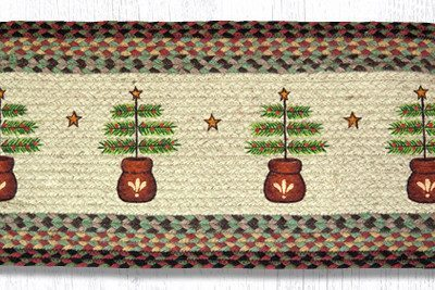 Feather Tree 68-081FT Oval Runner 13x36