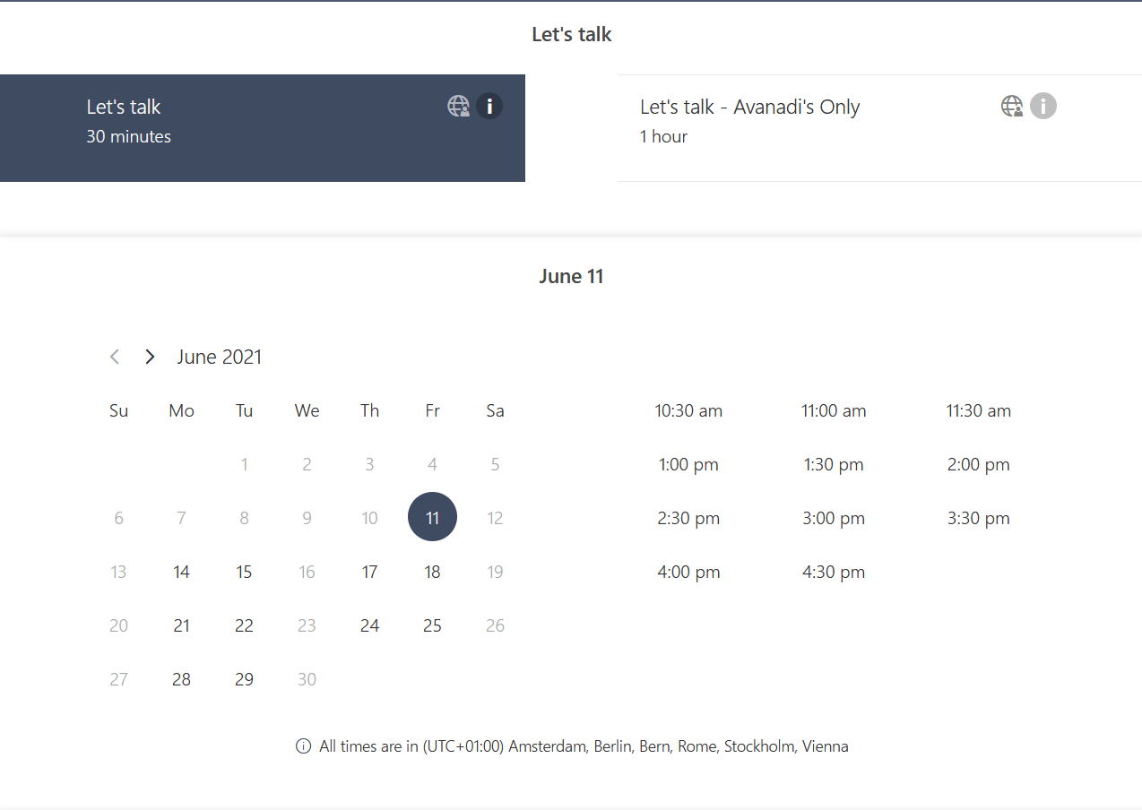 Using Microsoft Bookings and Cortana for scheduling Meetings