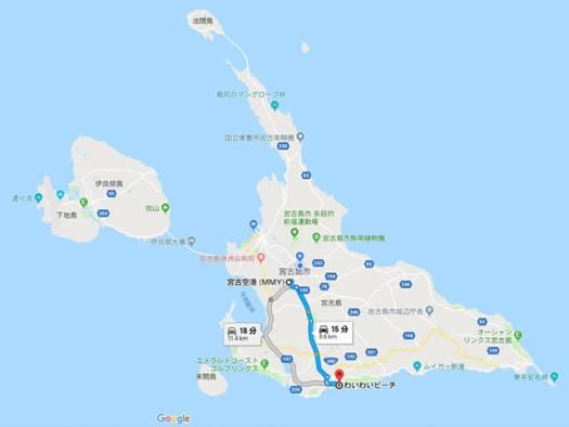 宮古島 地図