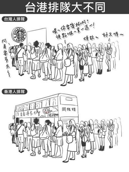 difference between hong kong and taiwan 17