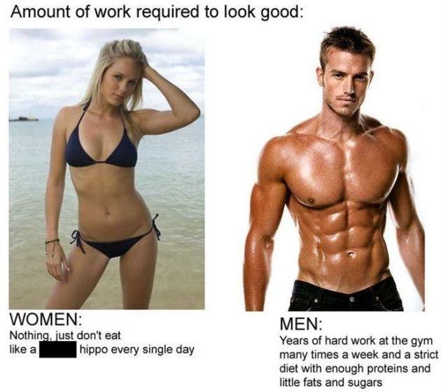男人與女人的30個差別...不管怎樣看完我是信了!