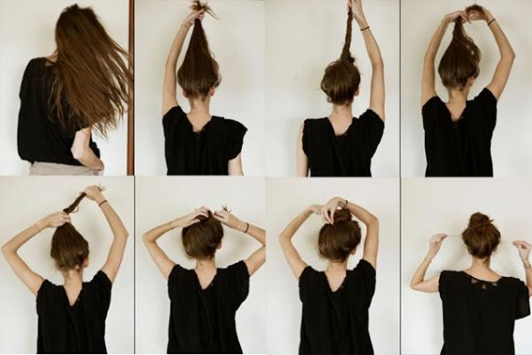 好想跟外國女生一樣慵懶又美麗?那就趕快學習如何綁出率性自然的丸子頭!
