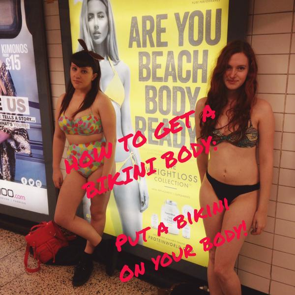 惹火大眾,英國倫敦4萬人聯署要求刪掉這則減肥廣告!
