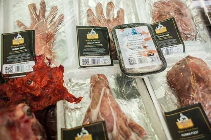 慎入!老板,來三斤30歲壯男大腿肉!「人肉專賣店」倫敦血淋淋開賣啦