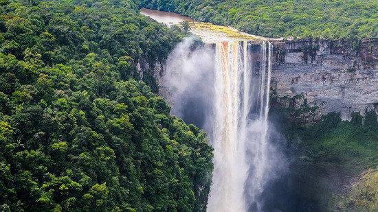 10大世界上最壯觀瀑布領略大自然的鬼斧神工