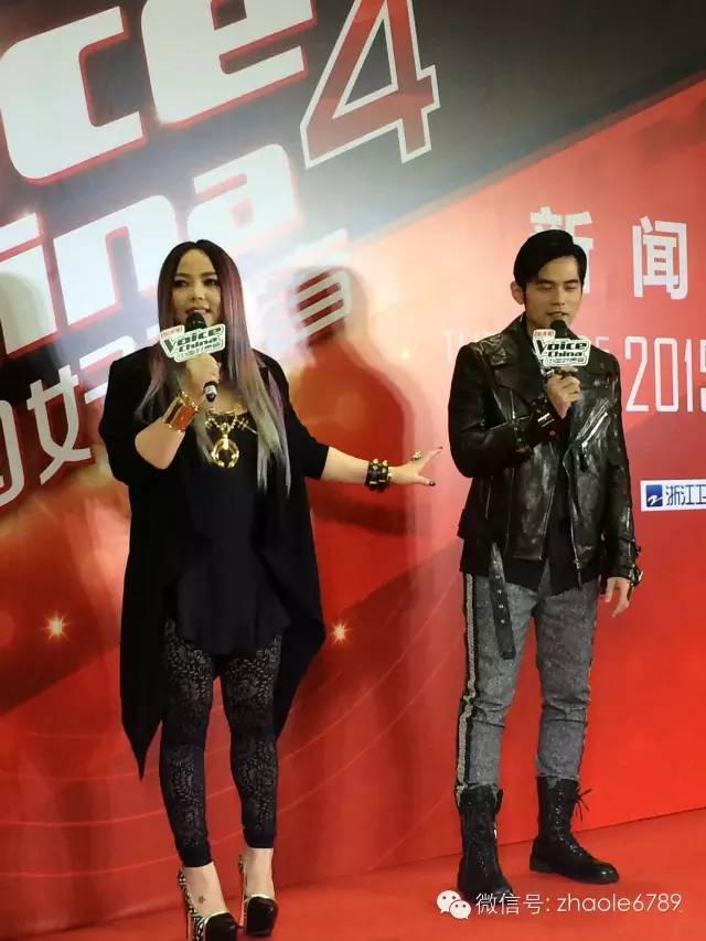 阿諾也來參加《中國好聲音》...周杰倫瘋狂了!
