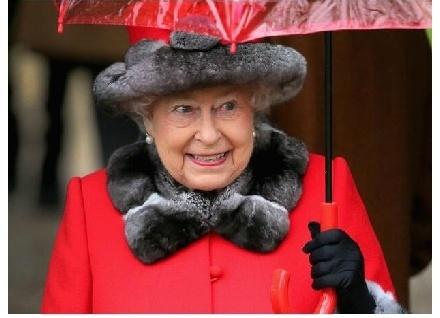 英女王90大壽照片一放上網,只需一天的時間就變成了無數的惡搞素材!