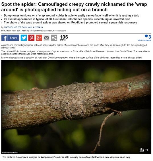 男子野外隨手抓一根樹枝,仔細一看崩潰了!