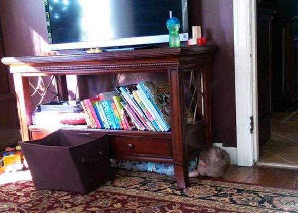 和這些小孩子玩躲貓貓,真的捨不得把他們找出來!
