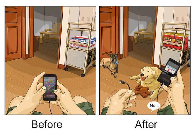 自從家裡養了狗,就感覺自己變成了工人。9張簡單的插畫,引起愛汪族的共鳴!