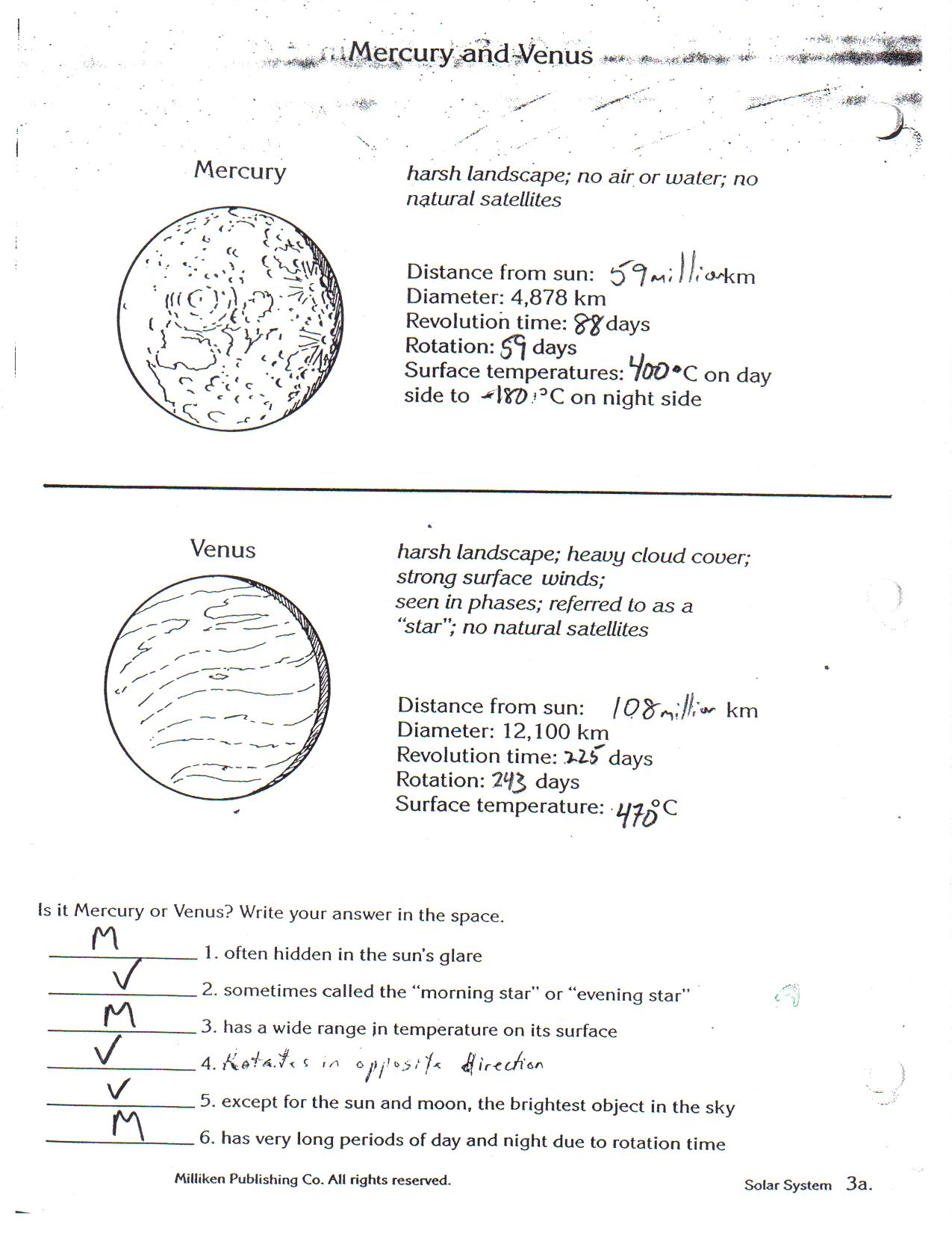 Worksheets Planet Earth Movie Page 2