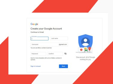 Gmail Sign Up New User Account - Create a Gmail Account | Gmail Sign Up