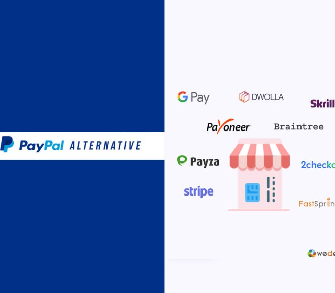 PayPal Alternative – 5 Best Alternative of PayPal | Top Online Payment Services