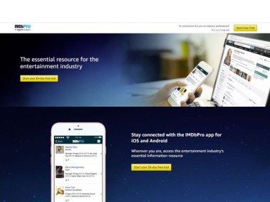 IMDbPro - How Much Does IMDbPro Membership Cost | IMDbPro 30-Day Free Trial