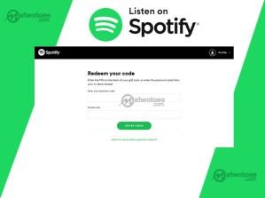 How to Use Spotify Redeem Code - Spotify Redeem