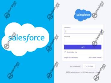 Salesforce Login - How to Login to Salesforce   SFDC Login