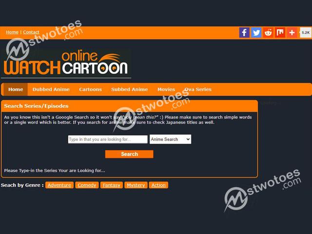 WatchCartoonOnline – Illegal Website to Watch Cartoons Online Free   Thewatchcartoon   WatchCartoonOnline.com