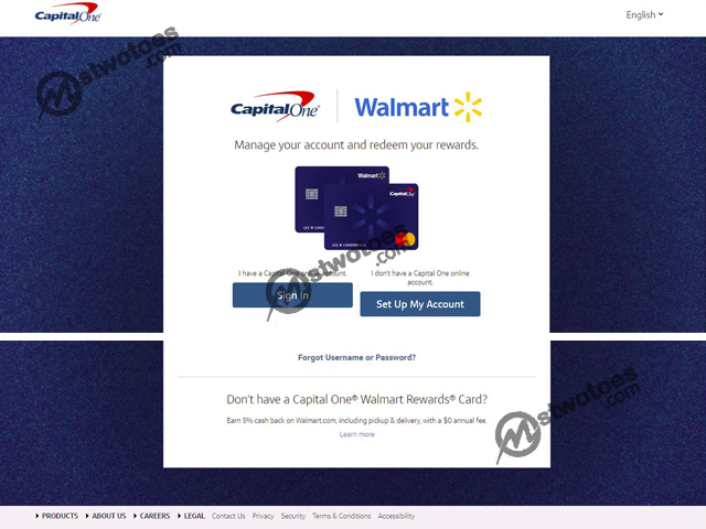 Walmart Credit Card Login – Manage Your Walmart Credit Card Account