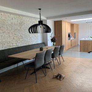 Aanbouw keuken M Style interieur