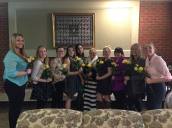Incoming and Outgoing Panhellenic Council Members