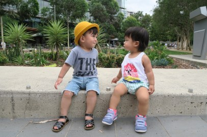 Boy meets girl.