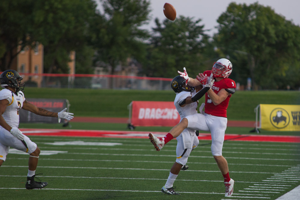 MSUM Dragon Football home Wayne State