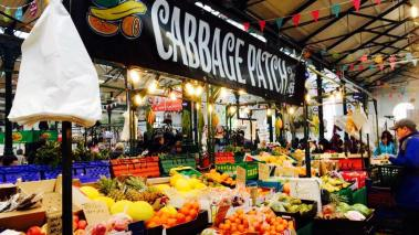Cabbage Patch Fruit and Vegetable stand, St. George's Market
