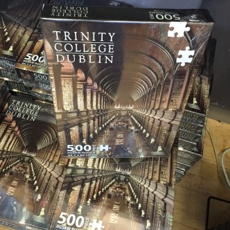 A Trinity puzzle at the library