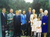 Royal Family in Kinloch Anderson Kilts