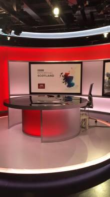 BBC news room