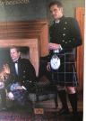 Two Scottish men modeling the kilt.