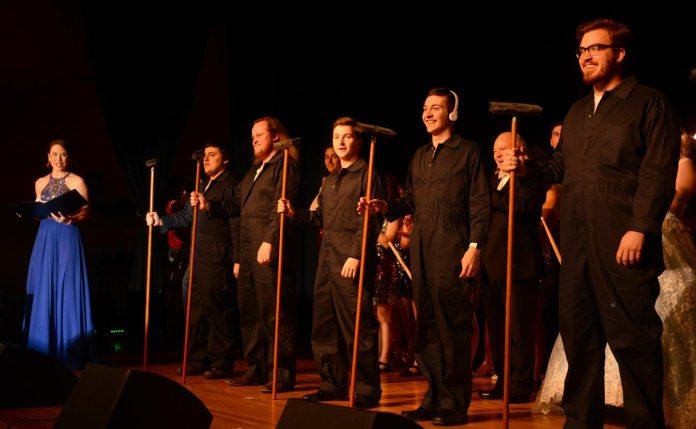 Photo: Students perform at Gala