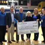 Ron and Diane Cartee were recognized at the Jan. 26 home basketball game.