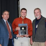 Chase Turner receives Auburn University's Francesca B. Gaither Scholarship.