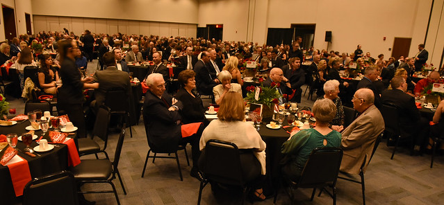 image: The hundreds of guests that attended the 2019 Spring Gala helped raise nearly $100,000 to advance academic programs and improve the University.
