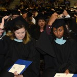 Image of students at commencement