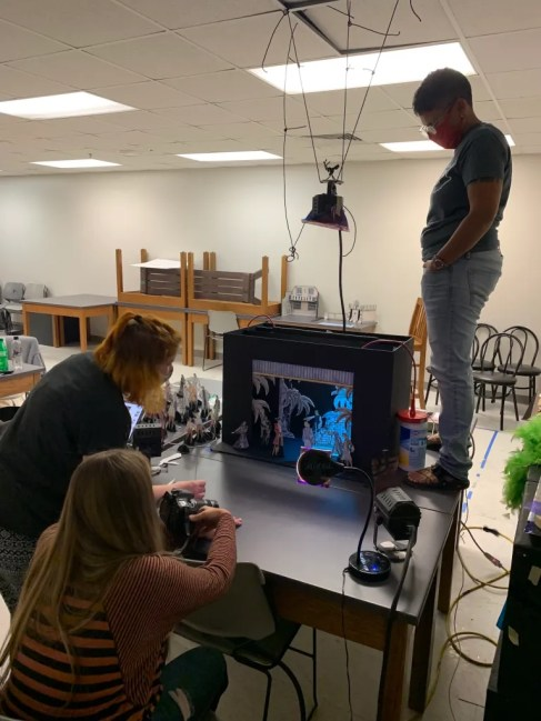 """MSU theatre alumni and working theatre professionals and others returned to campus to work on MSU's virtual production of """"Treasure Island."""""""